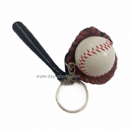 Baseball Set Key Chain