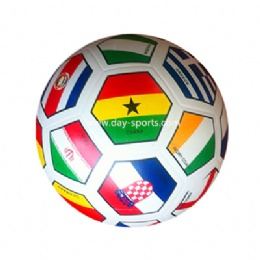 Smooth Surface 7P Standard Rubber Soccer Ball