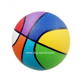 High Quality Colorful Rubber Basketball