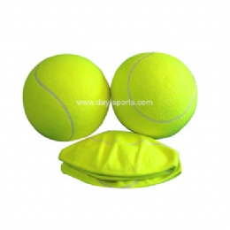 Inflated Tennis Ball