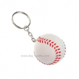 Foam Baseball Key Chain