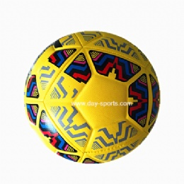PU Machine-sewn Soccer Ball in High Grade PU
